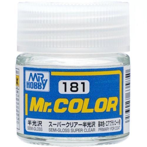C181 Semi Gloss Super Clear