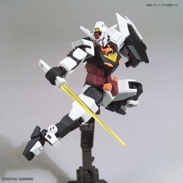 HGBDR 8 Core Gundam n Marsfour Unit 7