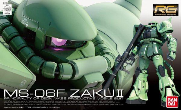 RG MS 06F Zaku II