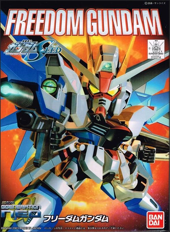 SD 257 Freedom Gundam