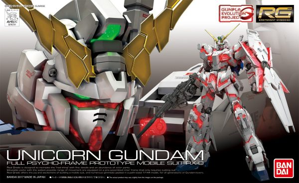 rg unicorn gundam