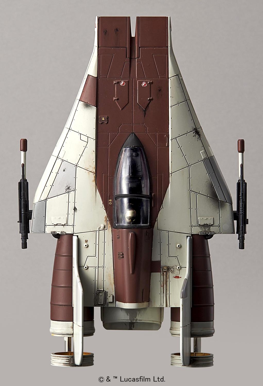 Star Wars 1 72 A Wing Starfighter Gundam Pros