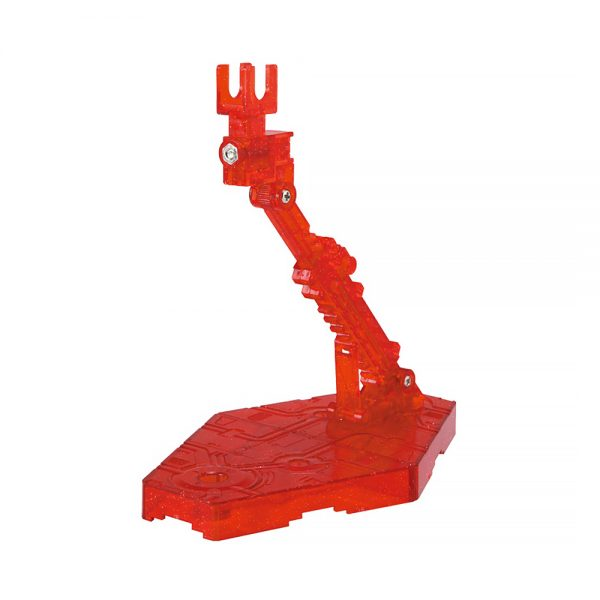 action base 2 clear red 2