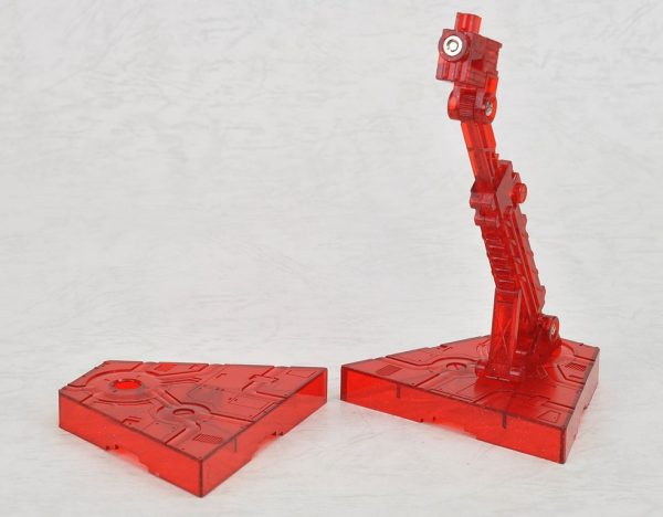 action base 2 clear red 3