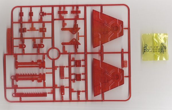 action base 2 clear red 6