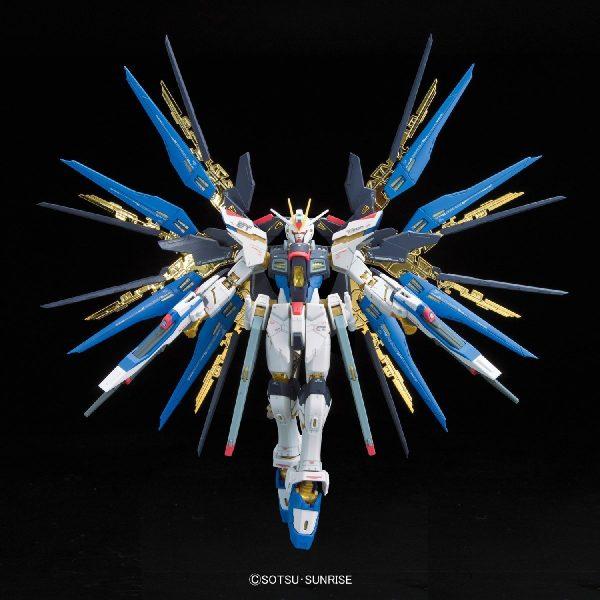 Strike Freedom Gundam Wings Open