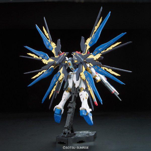 Strike Freedom Gundam Backside
