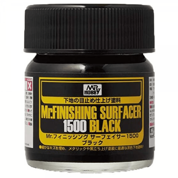 Finishing Surfacer 1500 Black