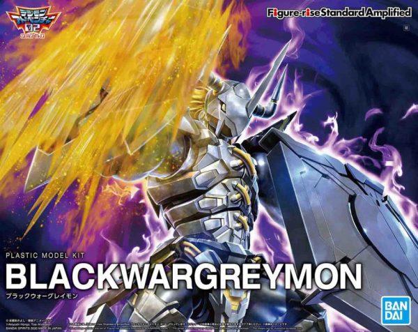 black wargreymon amplified