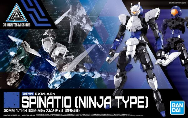 30mm 34 exm a9n spinatio ninja type