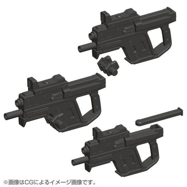 MSG Weapon Unit 24 Handgun 10